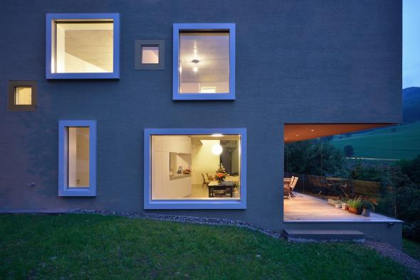 Fassade © L3P Architekten AG