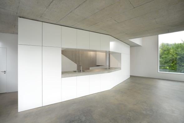 Wohnen Essen Küche, unterer Hausteil © L3P Architekten AG