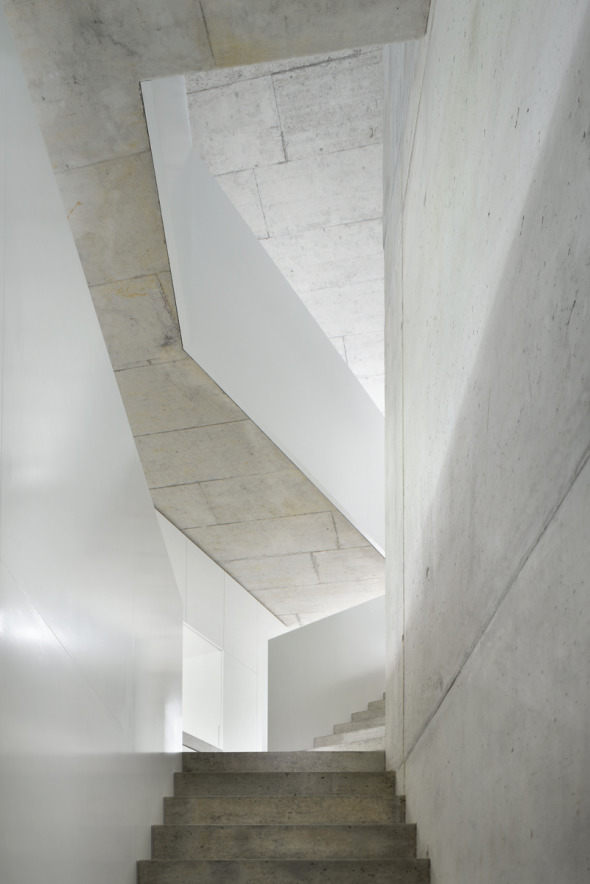Erschliessung, unterer Hausteil © L3P Architekten AG