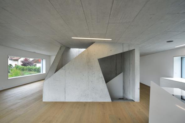 Wohnen Essen Küche, oberer Hausteil © L3P Architekten AG