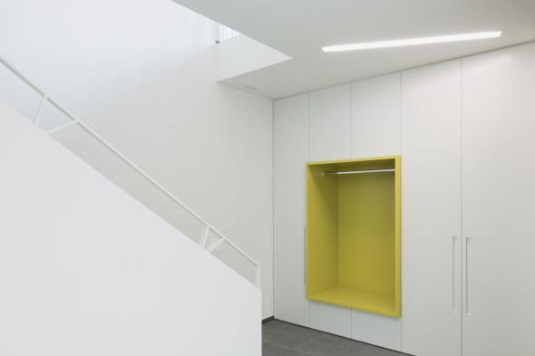 Gardarobe Eingangsbereich © Andreas Marti & Partner Architekten AG