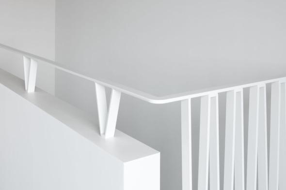 Detail Ansicht Treppengeländer © Andreas Marti & Partner Architekten AG