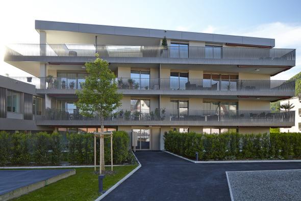 UNIT, Wohnüberbauung, Stans © Foto: Marco Sieber