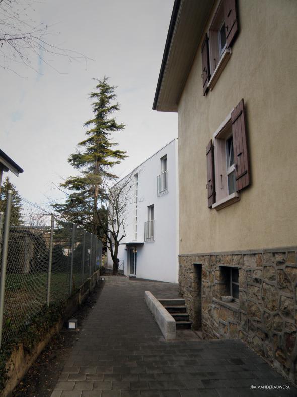 Zugang © Atelier d'Architecture Vanderauwera sàrl