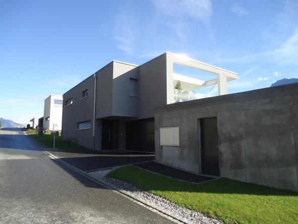 Ansicht Westen Einfahrt/Eingang © märk architektur ag