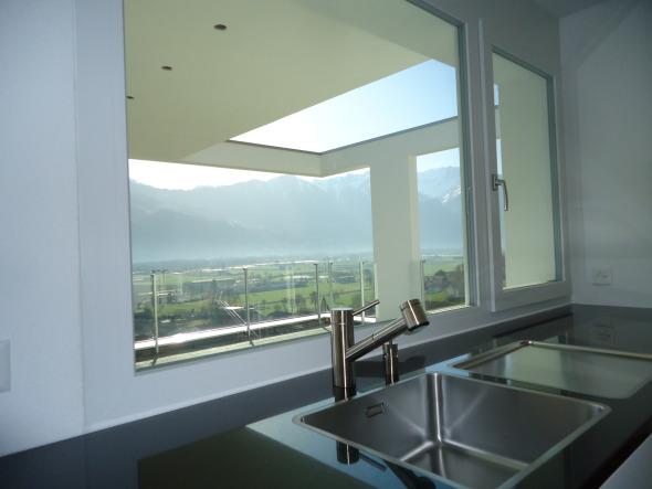 Ausblick Küche © märk architektur ag