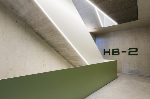 Neues Fluchttreppenhaus am alten Ort © Beat Bühler, Zürich