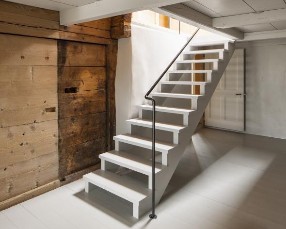 Neue Treppe ins Obergeschoss  © Roman Keller