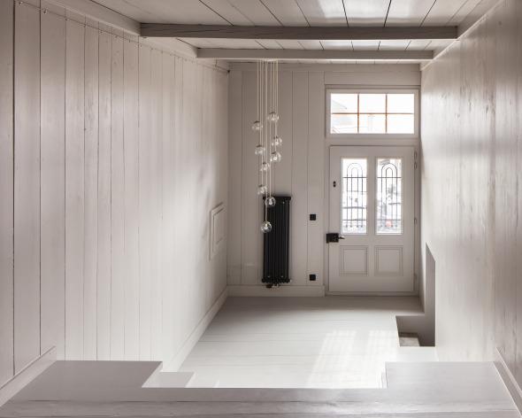 Abgestufter Eingangsbereich  © Roman Keller