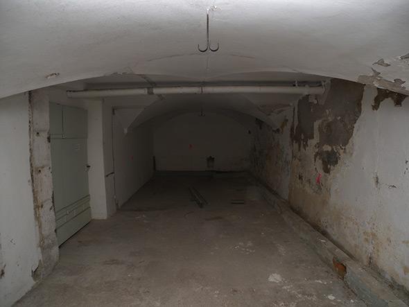 Kellergewölbe vor der Renovation. © Kaufmann Architekten AG