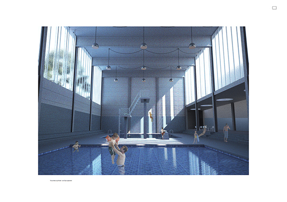 Piscine industrielle quartier de p rolles fribourg for Construction piscine fribourg