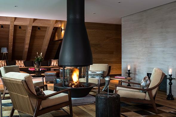 Furka Suite Living Room  © Reto Guntli