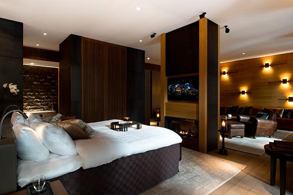 Bedroom © Reto Guntli
