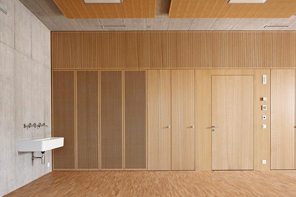 Zuluft und Akustik integriert © Ralf Feiner, Feiner Fotografie