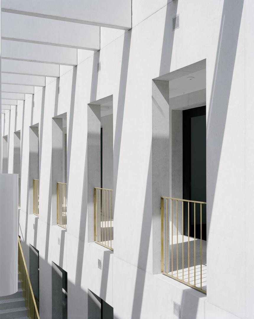 Lichthof  ©  Tonatiuh Ambrosetti / Bundesamt für Bauten und Logistik BBL