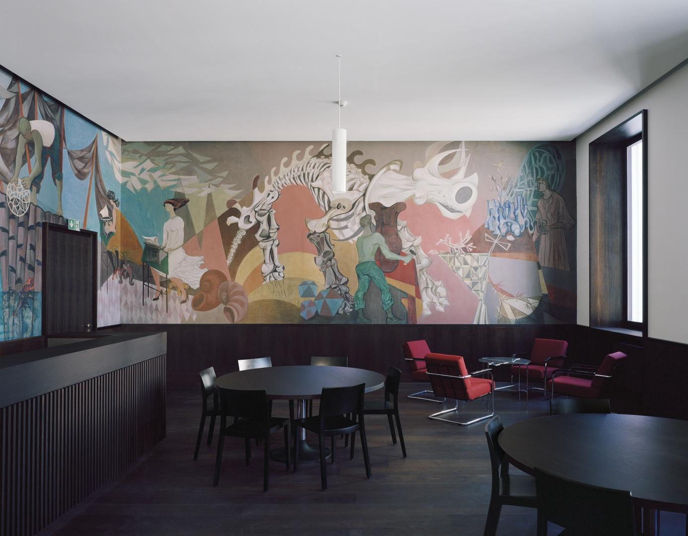 Cafeteria  ©  Tonatiuh Ambrosetti / Bundesamt für Bauten und Logistik BBL