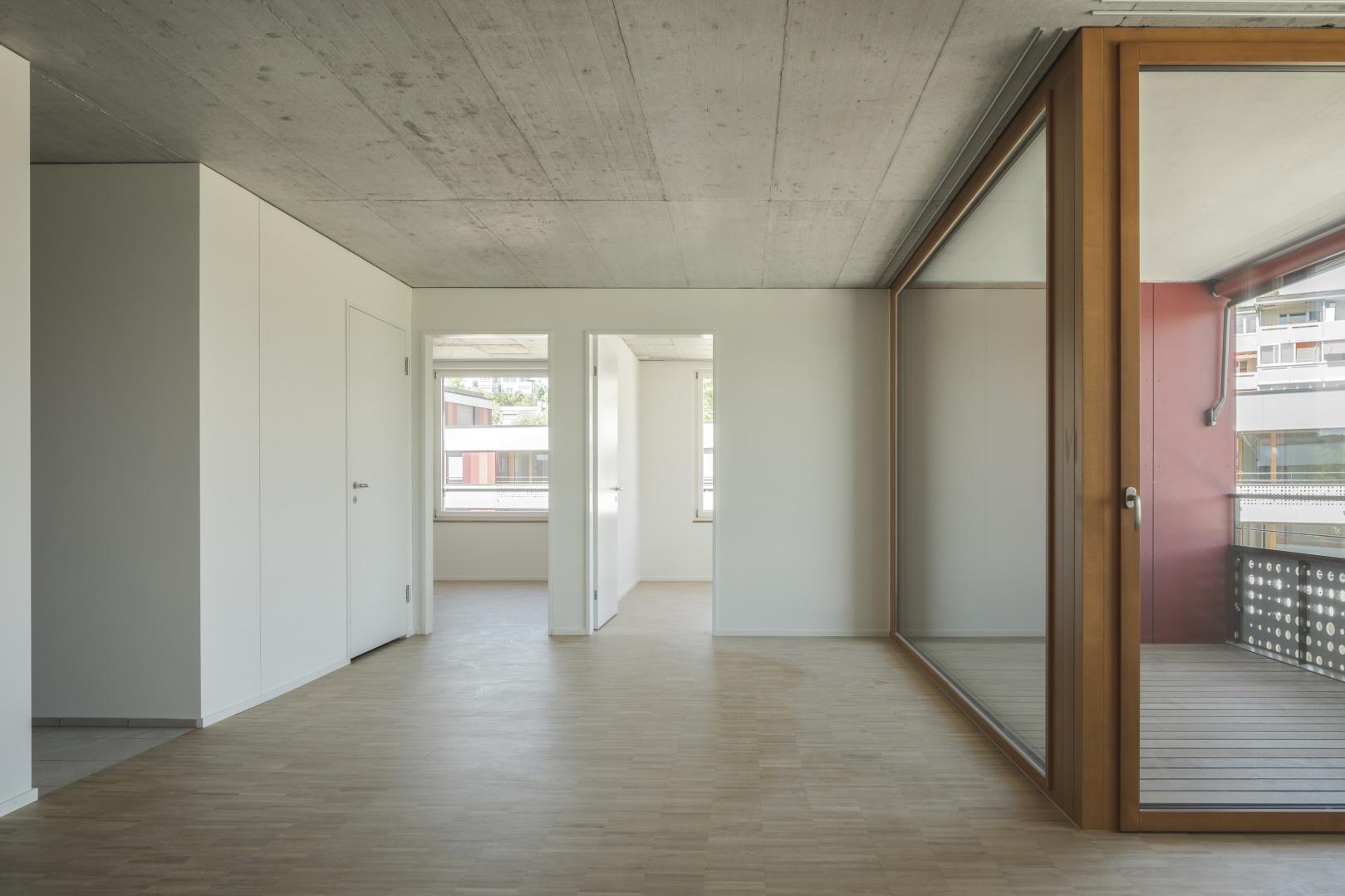 Innenraum Wohnung © Dominique Marc Wehrli, La-Chaux-de-Fonds