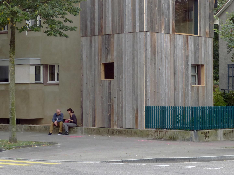 Eckturm, Sitzbank und Erker © Sauter von Moos
