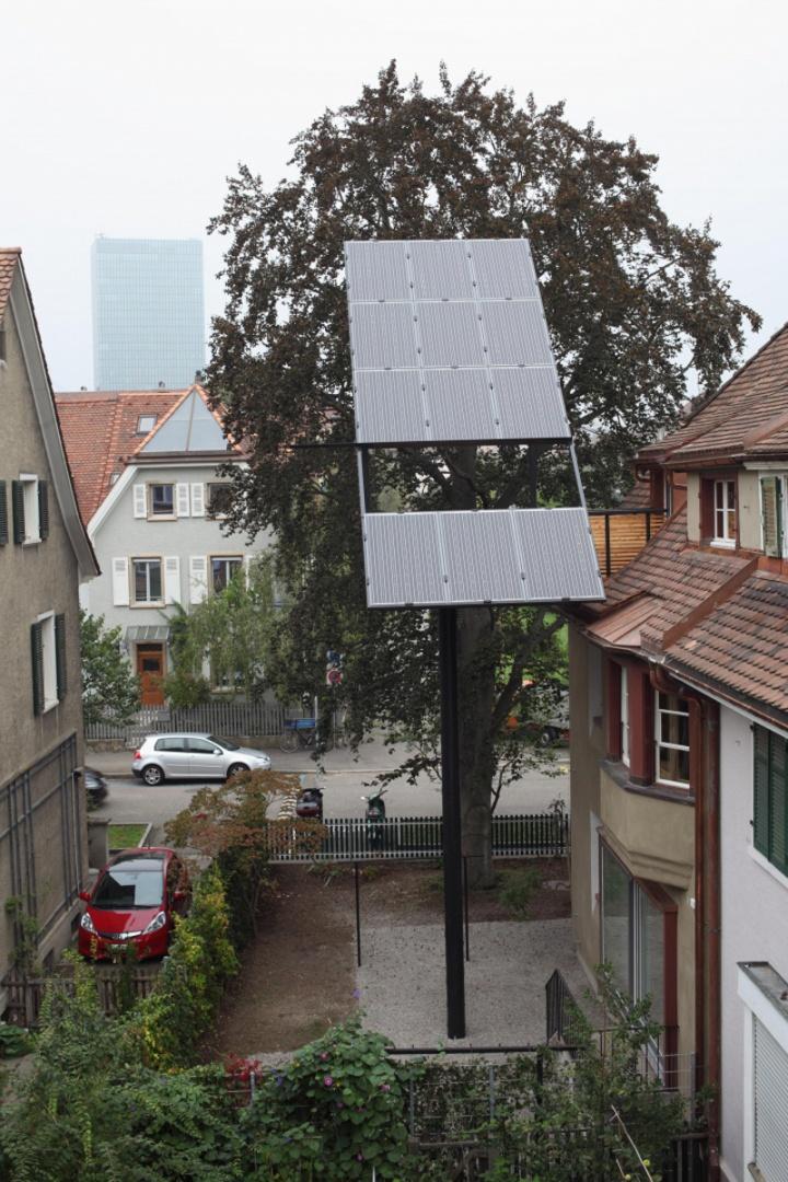 Loggia mit Solarpanelen © SEiko Grimberg