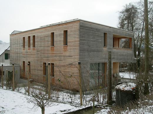 Wohnhaus aus Norden  © Architekturbüro André Schär