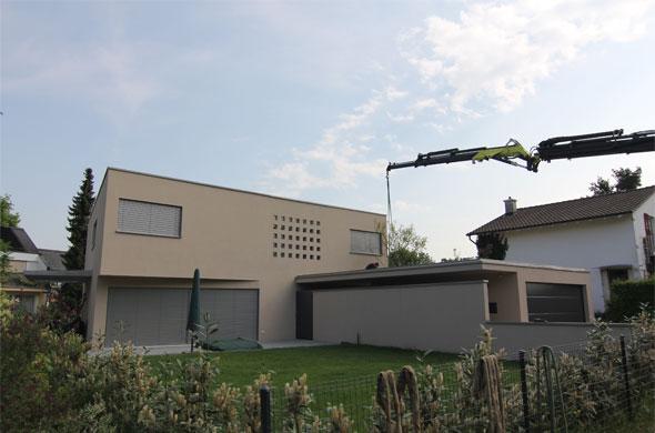 aménagement du jardin © B & M Architekten
