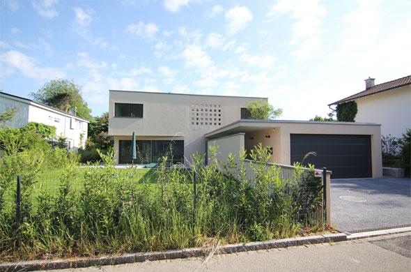 Ansicht Südfassade © B & M Architekten