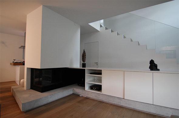 Cheminée © B & M Architekten