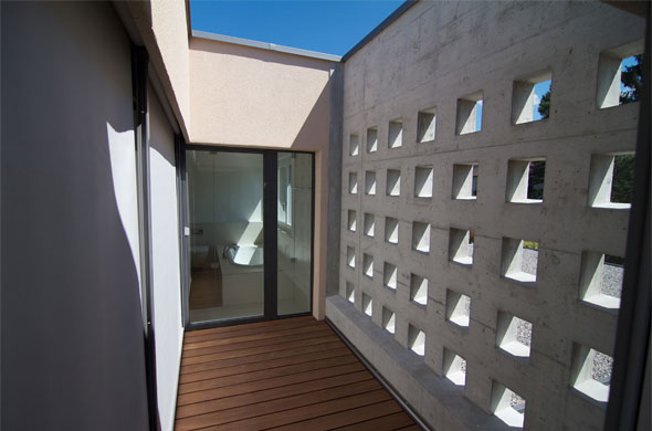 Atrium © B & M Architekten