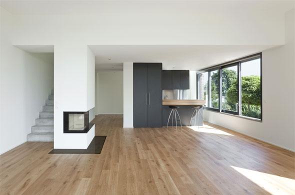 Innenbild Wohnraum/Küche