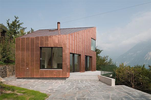 Wohnhaus Bauen wohnhaus triangel in bauen ur schweizer baudokumentation