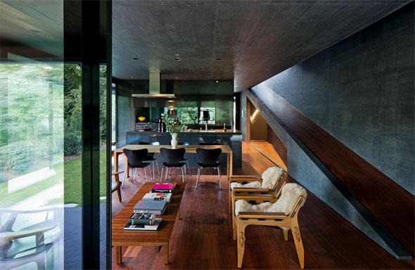 Erdgeschoss, Wohn- Essbereich © Leonardo