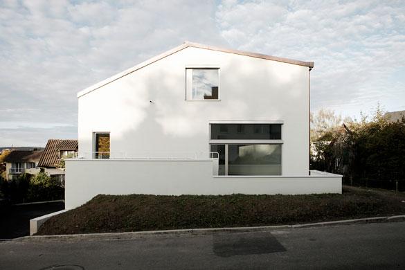 Südfassade © Dominic Schmid Architektur
