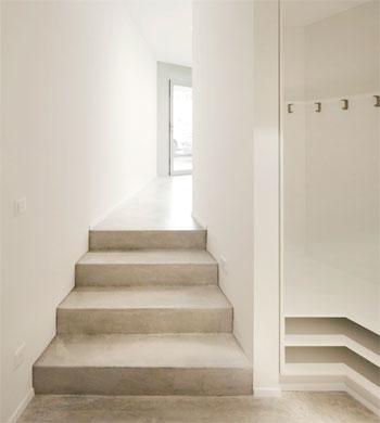 Garderobe © Dominic Schmid Architektur