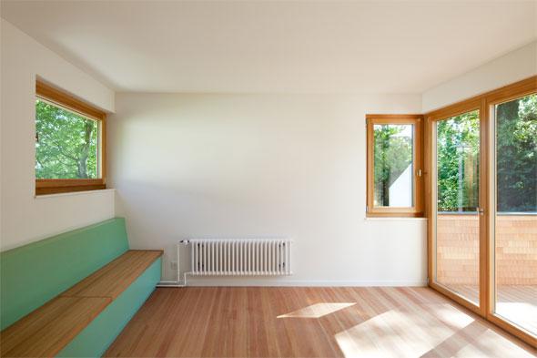 Die erweiterte Wohnküche © Beat Bühler