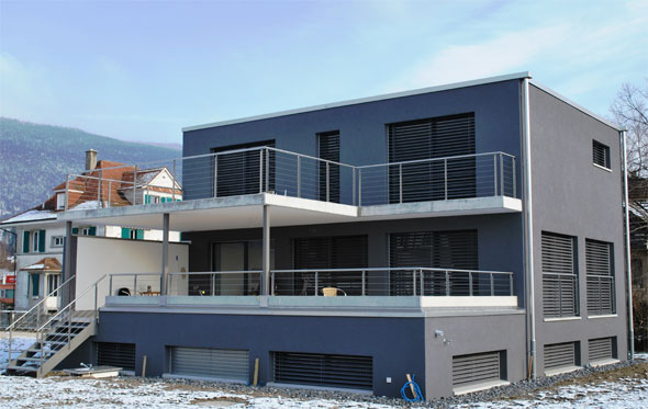 Hochparterre Einfamilienhaus Munterfeld Schweizer Baudokumentation