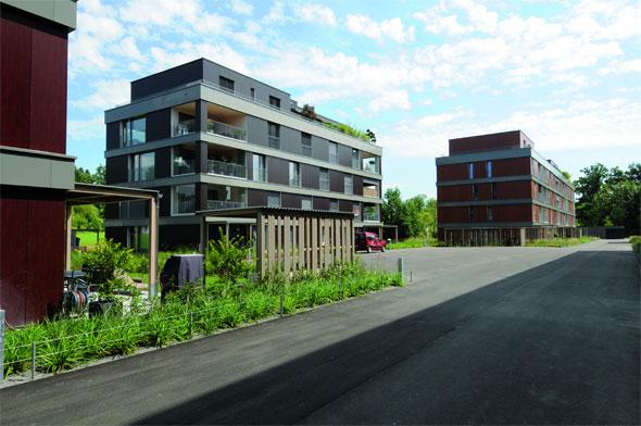Strassenseitige Fassade © Della Casa Architekten AG