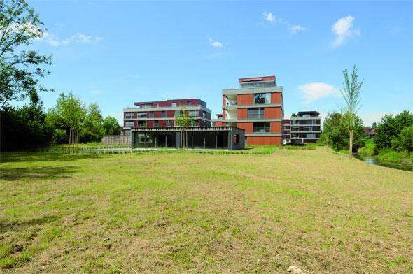 Feldseitige Ansicht © Della Casa Architekten AG