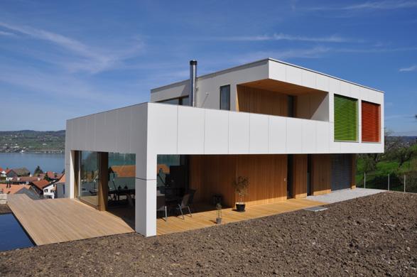 Süd- und Westansicht © 2m-architektur gmbh