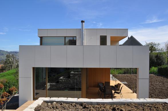 Westansicht © 2m-architektur gmbh