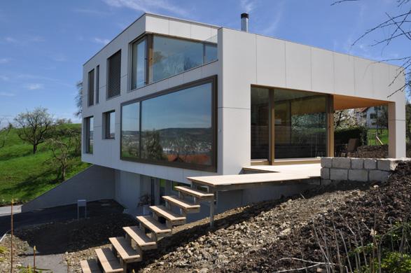 West- und Nordansicht © 2m-architektur gmbh