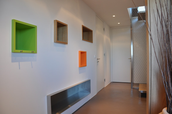 Eingangsbereich UG © 2m-architektur gmbh