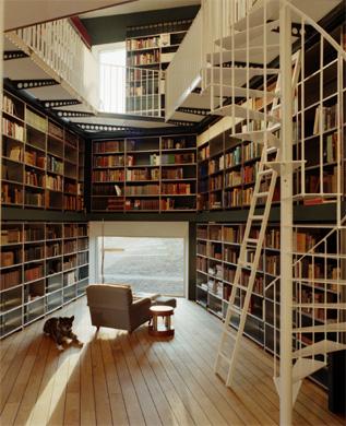 Bibliothek EG © LUKAS WASSMANN / SALLY MONTANA
