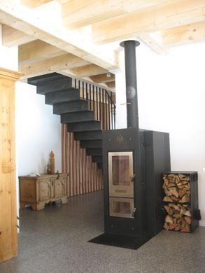Stückholz-Zentralofen