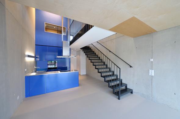 KISS Wohnungstypus Industrial - Untergeschoss  © Peter Würmli