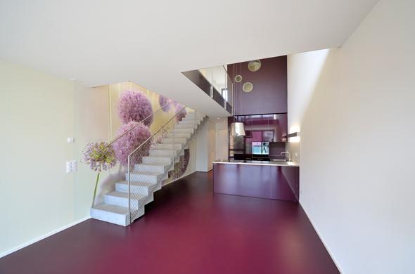 KISS Wohnungstypus Funky - Untergeschoss  © Peter Würmli