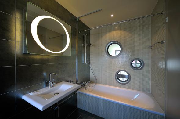KISS Wohnungstypus Funky - Badezimmer  © Peter Würmli