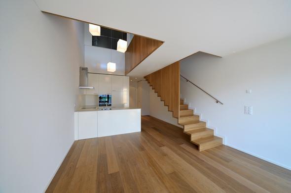 KISS Wohnungstypus Classic - Untergeschoss  © Peter Würmli