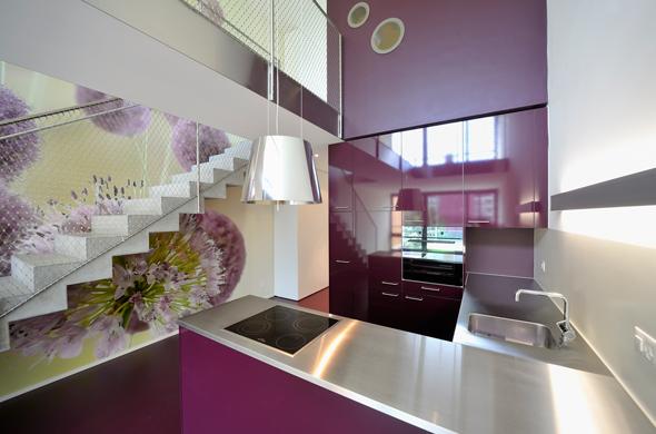 KISS Wohnungstypus Funky - Küche  © Peter Würmli
