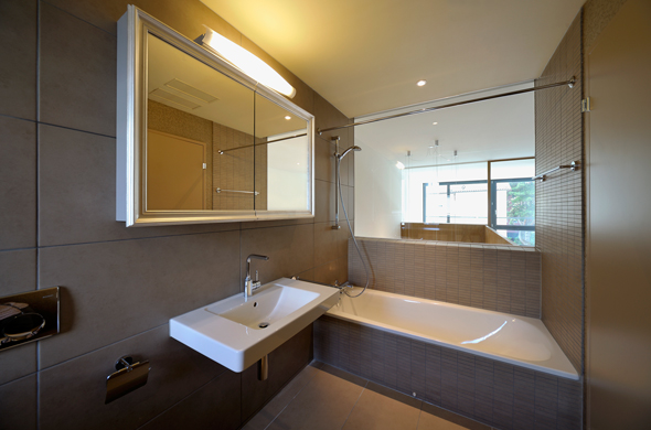 KISS Wohnungstypus Classic -Badezimmer  © Peter Würmli
