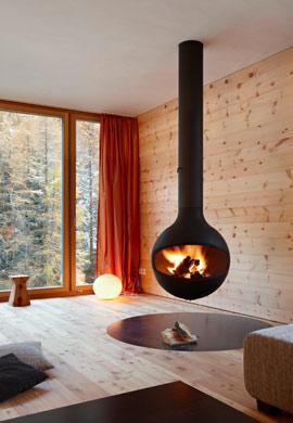 Kamin für wohlige Wärme zum Entspannen